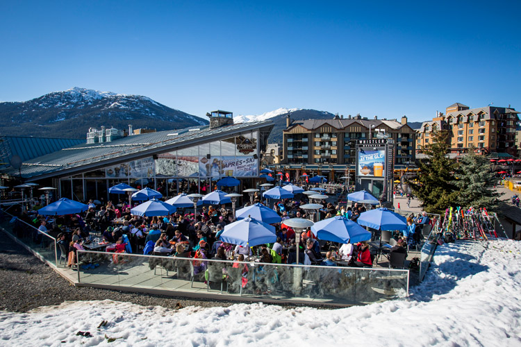 Spring Apres at the GLC in Whistler Village