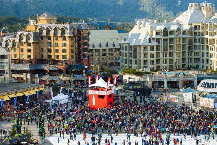 World Skiing Invitational Big Air at WSSF