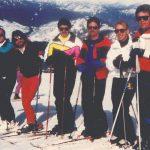 The Black Velvet Ski Team