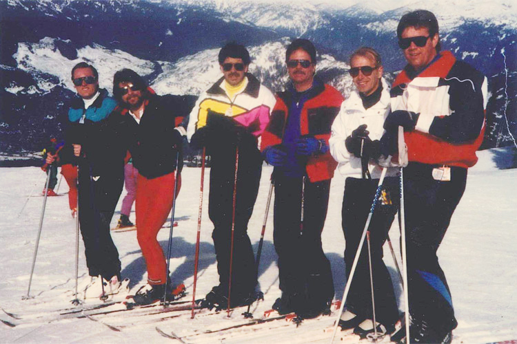 The Black Velvet Ski Team
