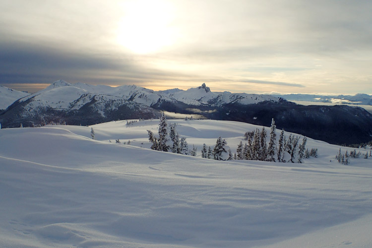 Backcountry Views in Whistler