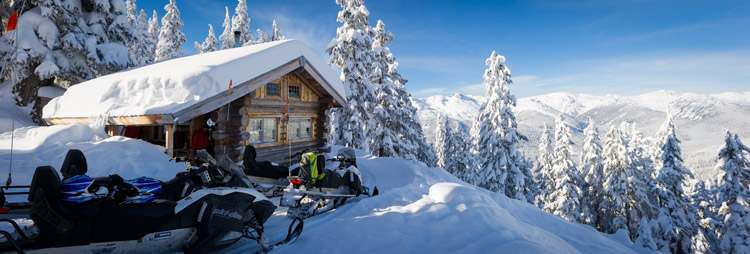 Snowmobiling in the Callaghan Valley with Canadian Wilderness Adventures