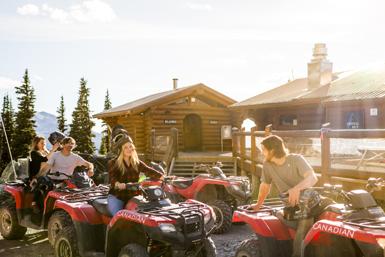 ATV Tour with Canadian Wilderness Adventures