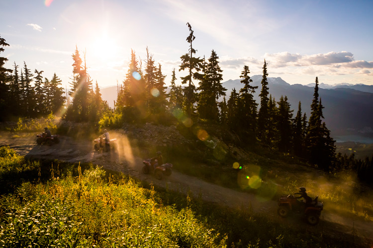 ATV Tours with Canadian Wilderness Adventures in Whistler