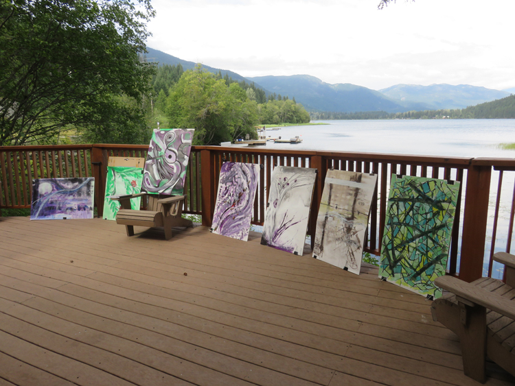 Arts Whistler Backdrop Sessions: Isobel MacLaurin