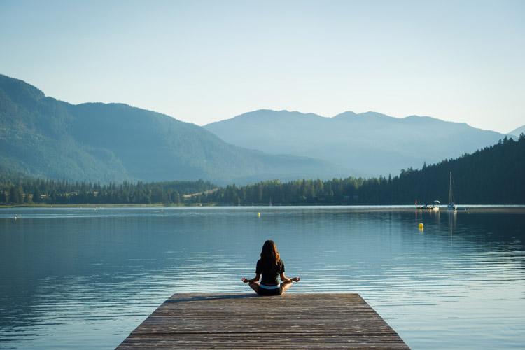 Spring Yoga at Alta Lake