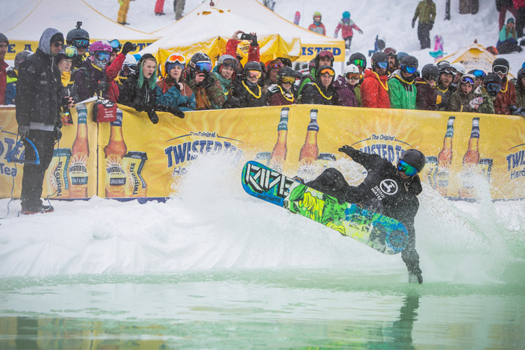 Slush Cup at World Ski and Snowboard Festival