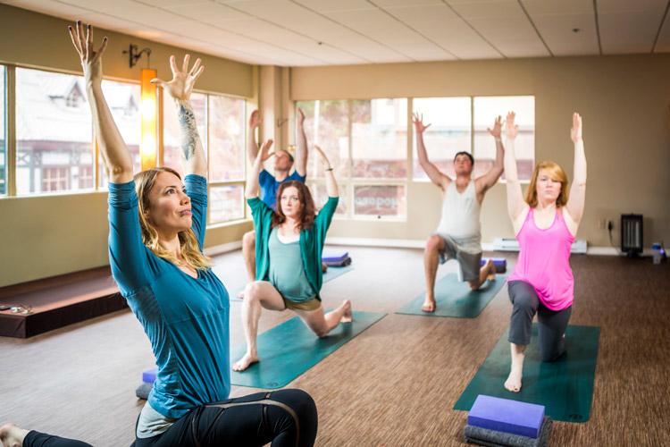 Yoga studio in Whistler