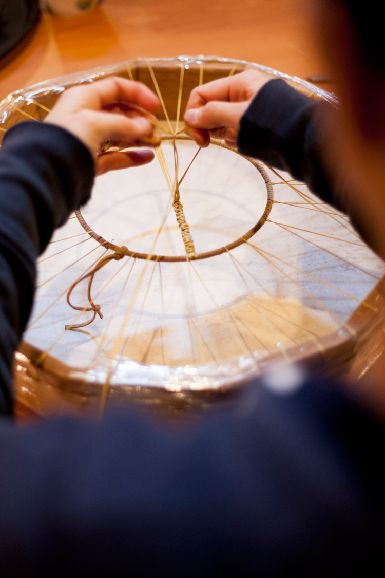 Drum Making Workshop at the SLCC