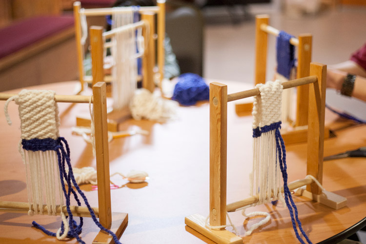 Weaving Workshop at the SLCC