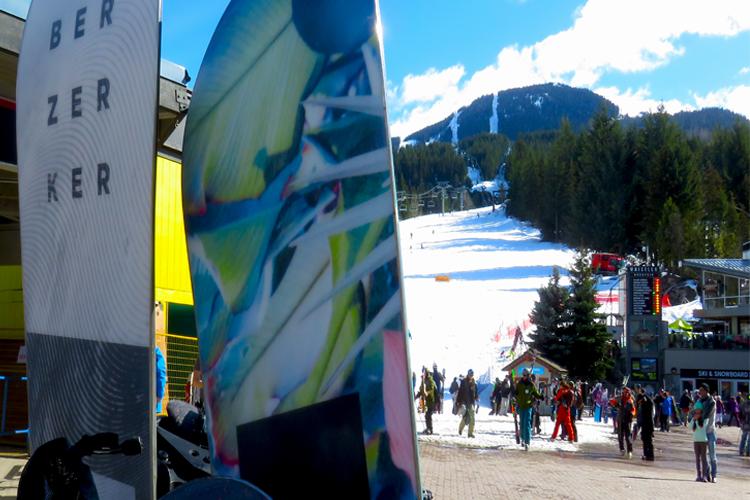 Spring Skier's Plaza
