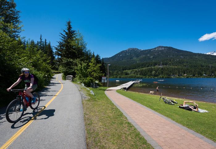 Lakeside Park on Alta Lake Whistler