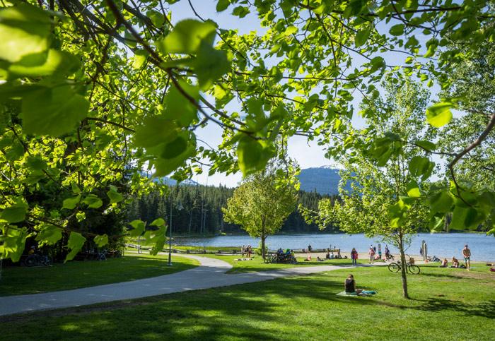 Lost Lake Park in Whistler