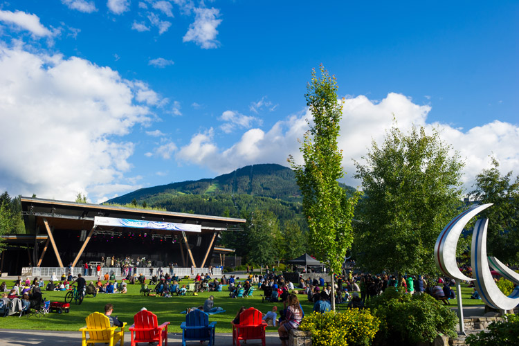 Free Summer Concert Series in Whistler