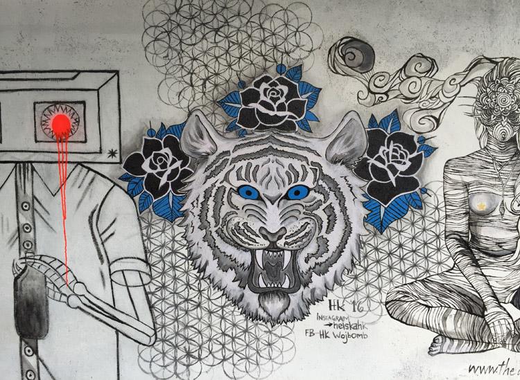 Mural. Artist: Helen Wojcik