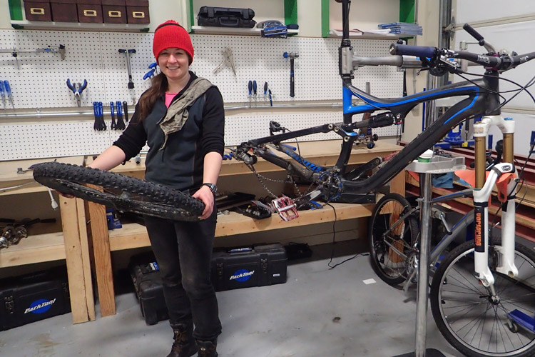 Whistler Adventure School Bike Maintenance Course