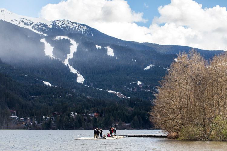Spring in Whistler valley