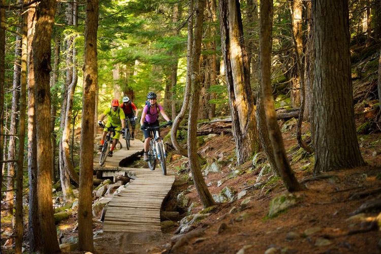 THink Bike Guided Ride i Lost Lake