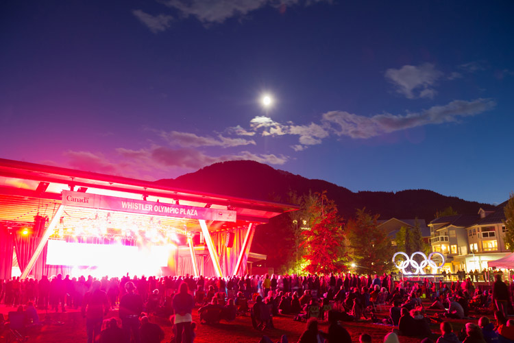 Outdoor Concert Series in Whistler