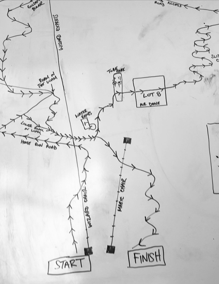 WORCA Toonie Race Course Map