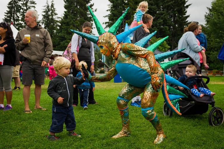 Whistler Children's Festival at the Olympic Plaza