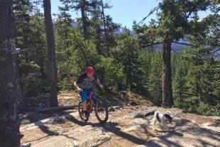 Spring Biking in Whistler