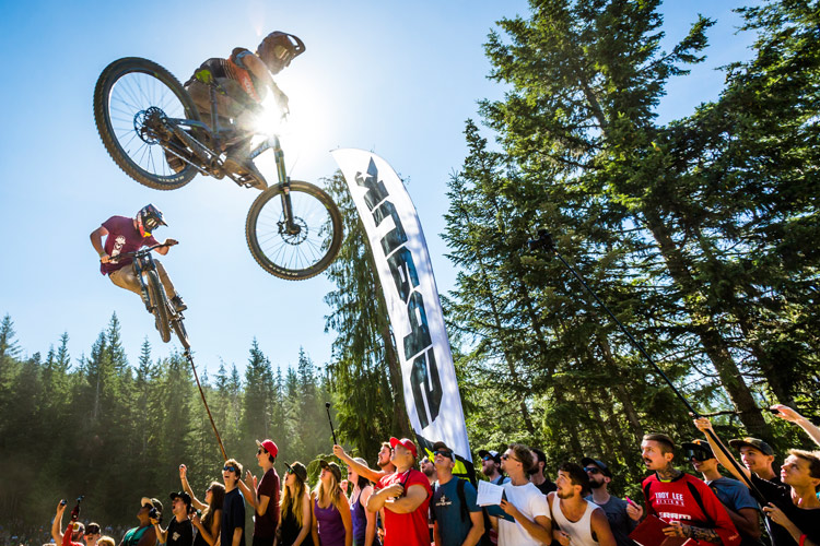 Official Whip-Off World Championships in Whistler Bike Park