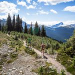 5 Peaks run, Blackcomb Mountain. Whistler, BC
