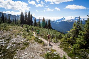 5 Peaks run, Blackcomb Mountain. Whistler, BC