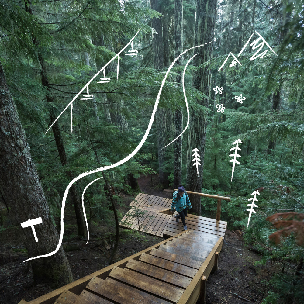 Blackcomb Ascent Trails