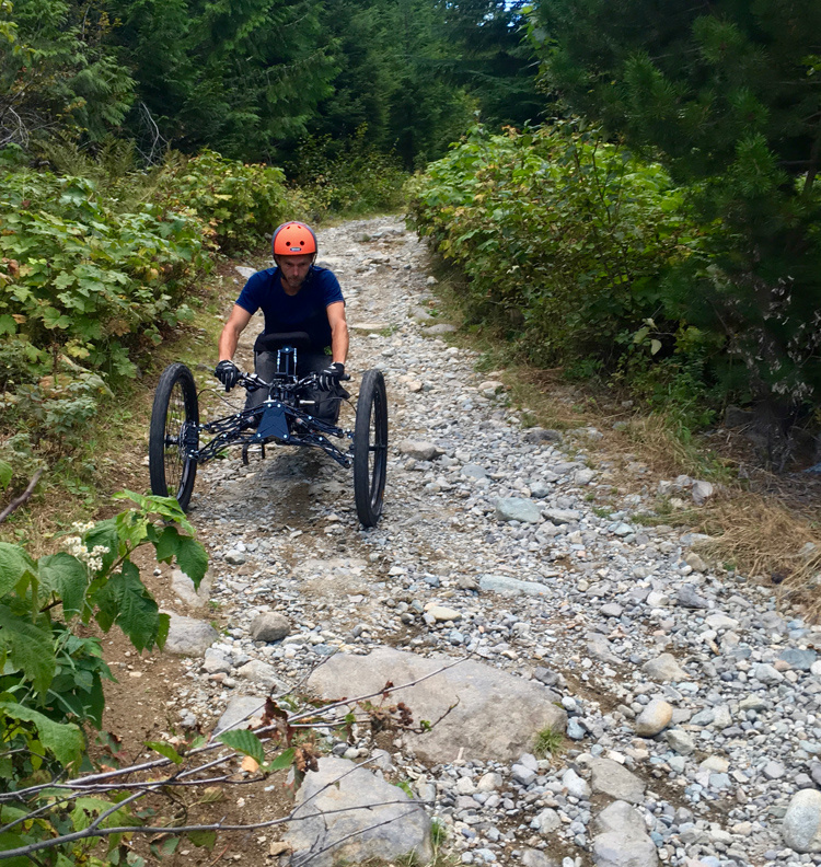 Adaptive Biking in Whistler