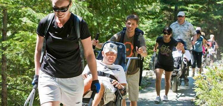 Adaptive Hiking in Whistler
