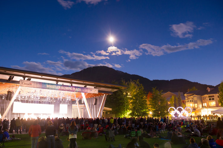 Free Summer Concerts in Whistler