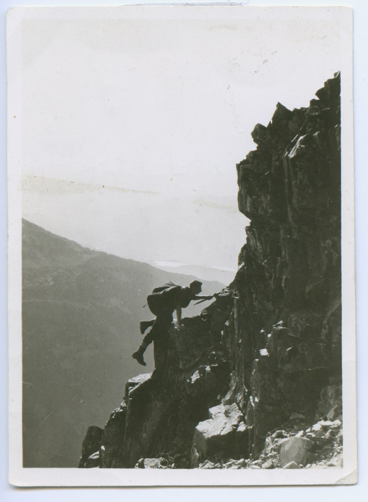 Mountaineering in Whistler, 1923