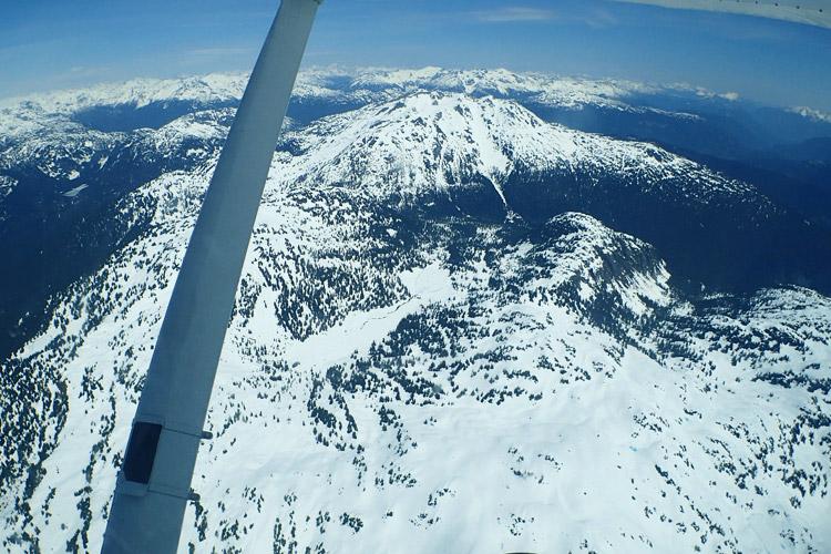 Floatplane Tour Over Whistler