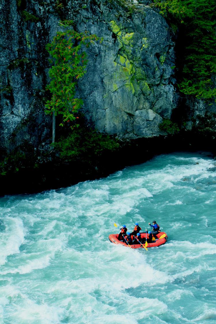 White Water Rafting in Whistler