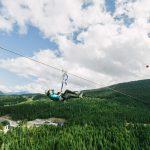 The Sasquatch Zipline in Whistler