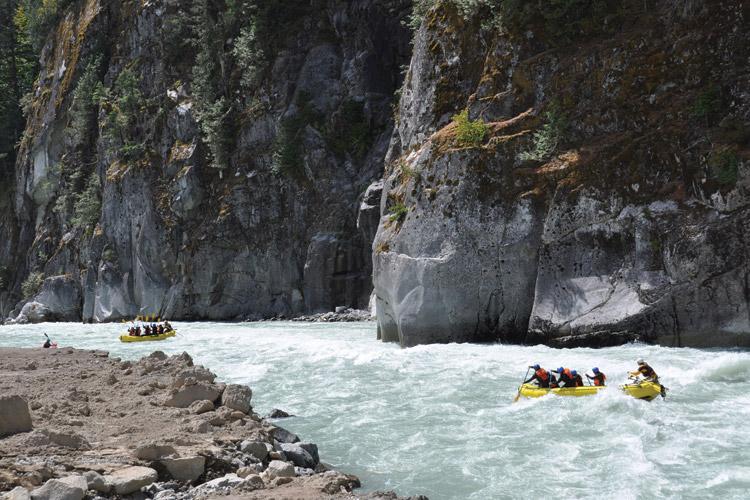 Rafting Tours in Whistler
