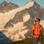 Hiking season on Whistler Mountain