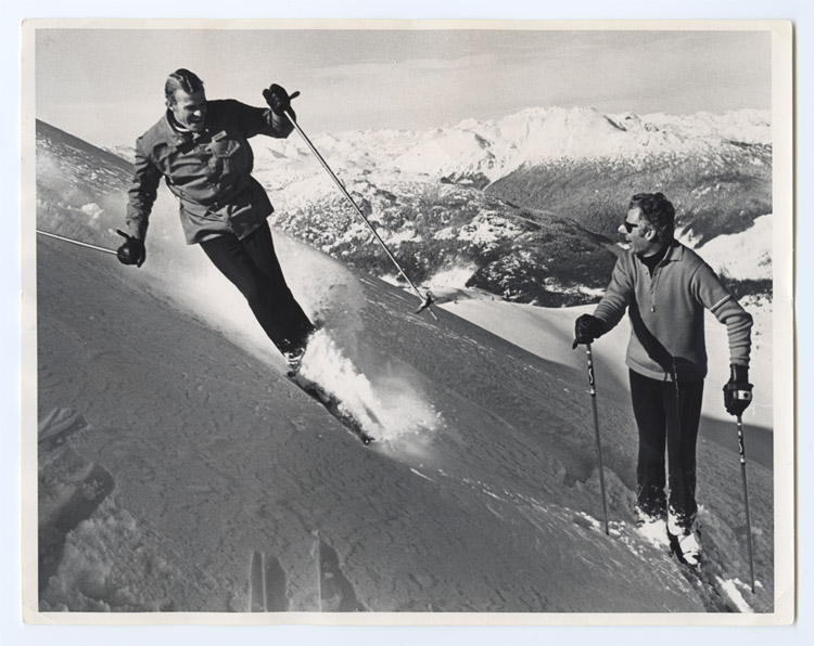 Skiing on Whistler Mountain in the 60s