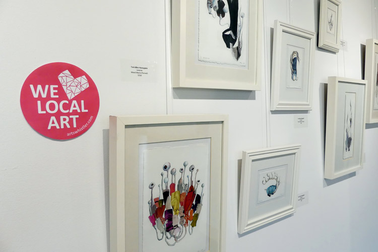 We Heart Local Art Program Whistler