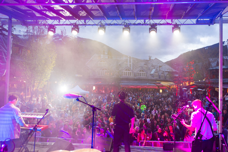 Live Music in Whistler Village Square