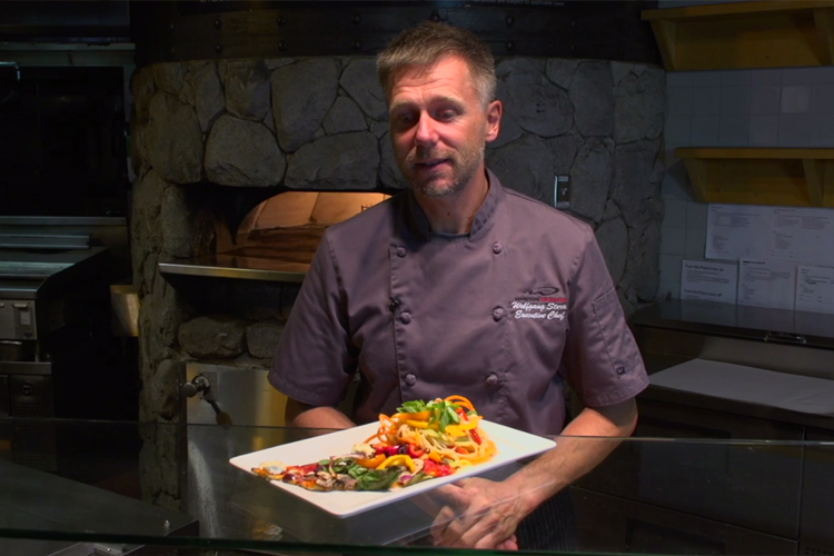 Executive Chef Wolfgang Sterr