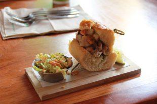 Porchetta at the Fairmont on the Whistler Food Tour