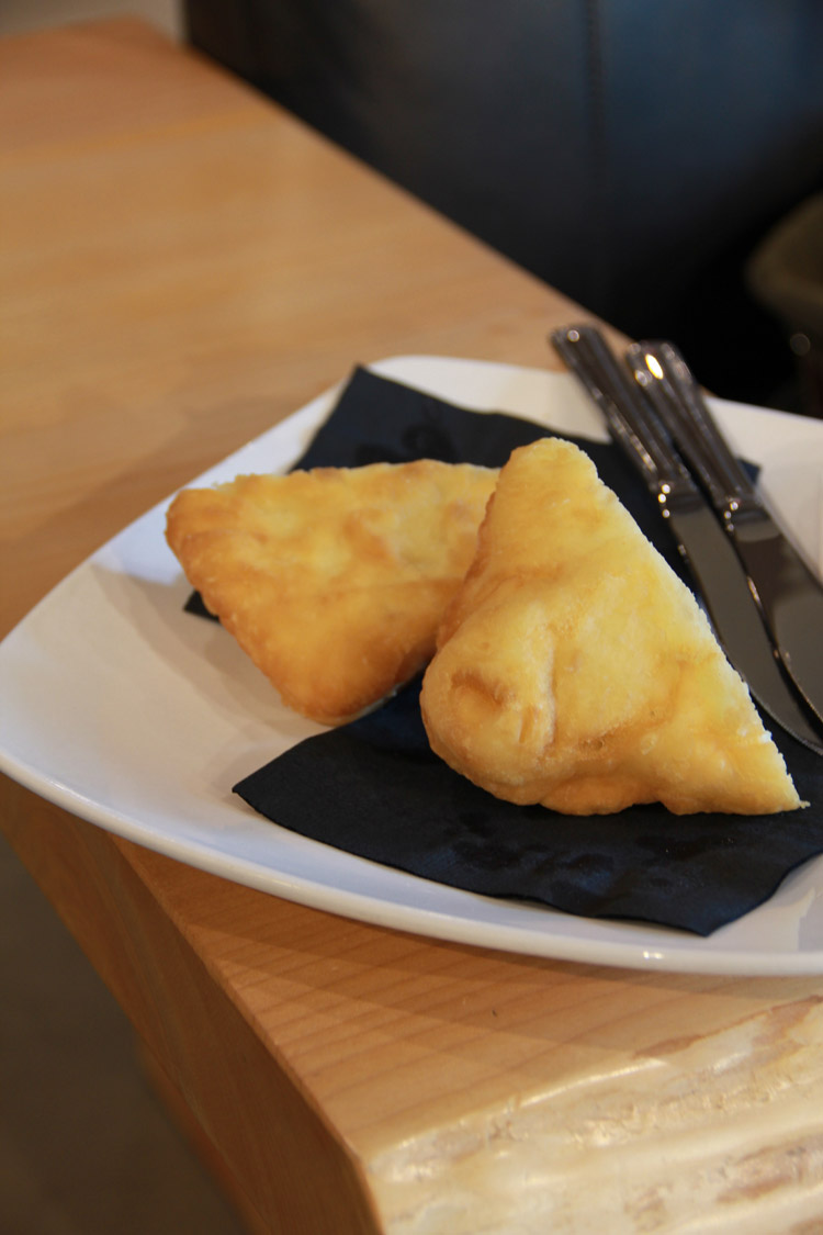 Bannock Sample on the Whistler Food Tour