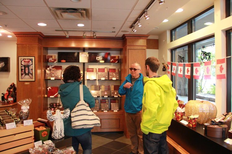 Rogers Chocolate in Whistler