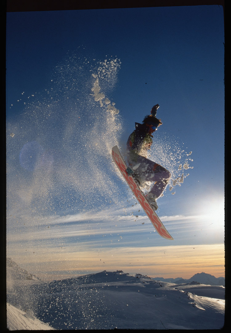 Early Days of Snowboarding in Whistler