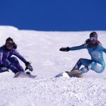 Snowboarding in Whistler in the 90s