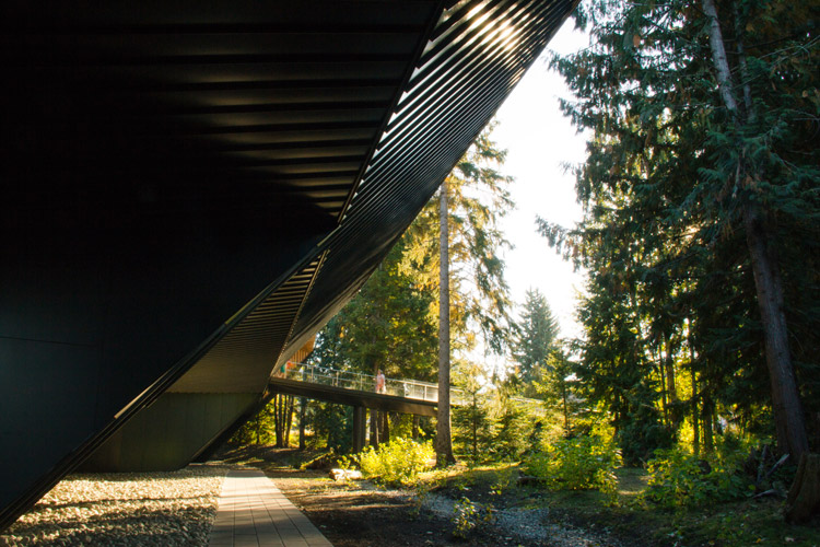 Architecture of The Audain Art Museum in Whistler