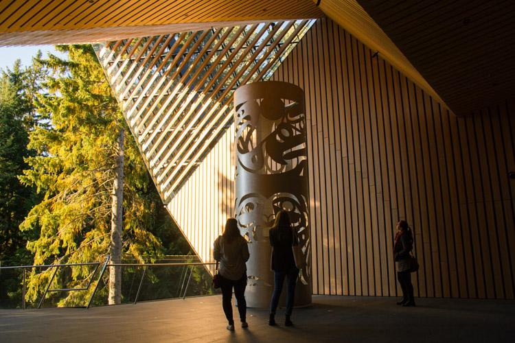 The Audain Art Museum in Whistler